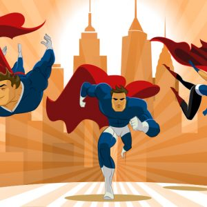 Famous Superhero Logos