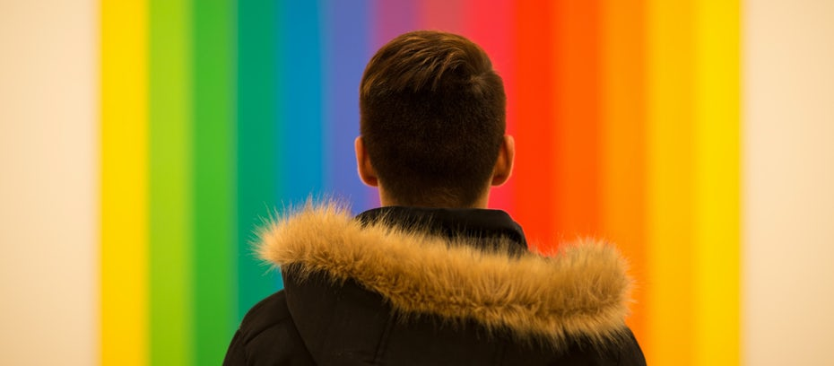 The 7 Colors Of The Rainbow In Graphic Design