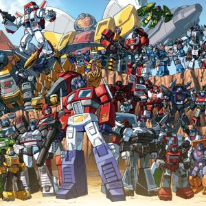 The History of the Autobots Logo
